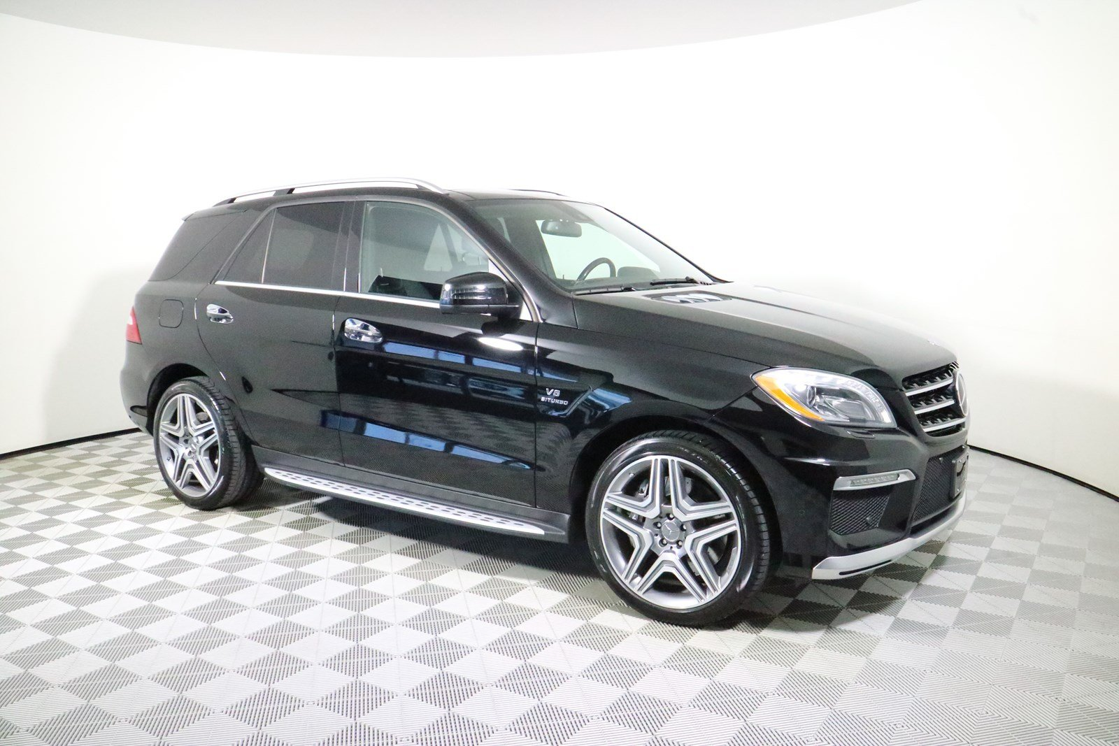 Captivating Pre Owned 2014 Mercedes Benz M Class ML 63