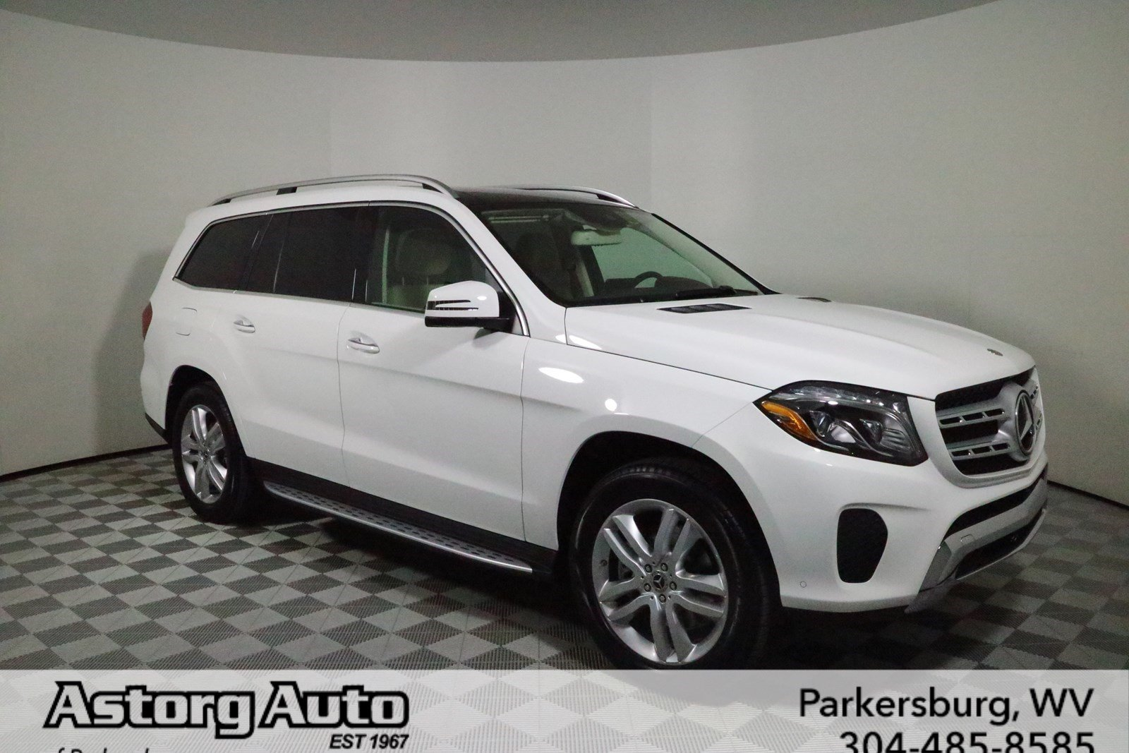 New 2018 mercedes benz gls gls 450 suv in parkersburg for Gls mercedes benz suv
