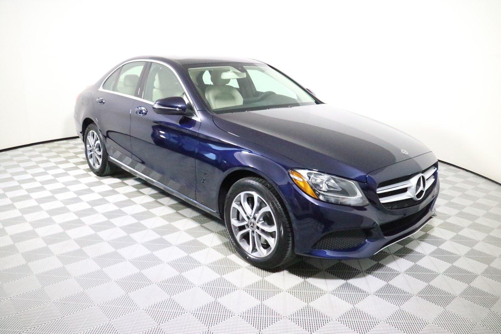 Certified pre owned 2018 mercedes benz c class c 300 sedan for Mercedes benz c class pre owned