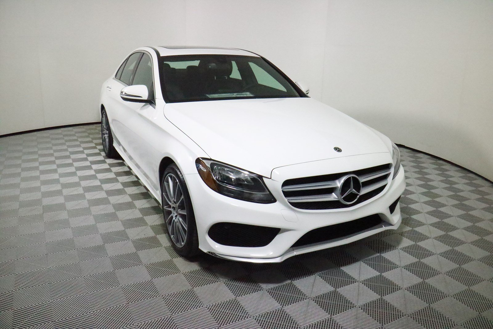 Certified pre owned 2018 mercedes benz c class c 300 sport for Mercedes benz c class pre owned